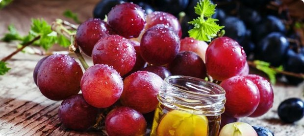 калорийность красного винограда